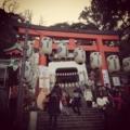 [風景][江ノ島][神社][iPhone 4S]2013年の初詣@江島神社