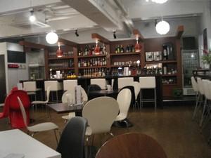 カフェムース店内