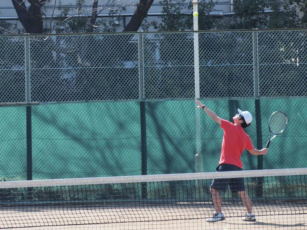 レシーブ テニス
