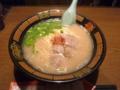 [食][FC東京]一蘭 天神店の天然とんこつラーメン