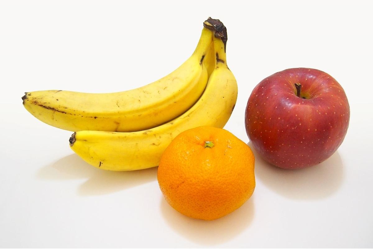 りんご バナナ みかん