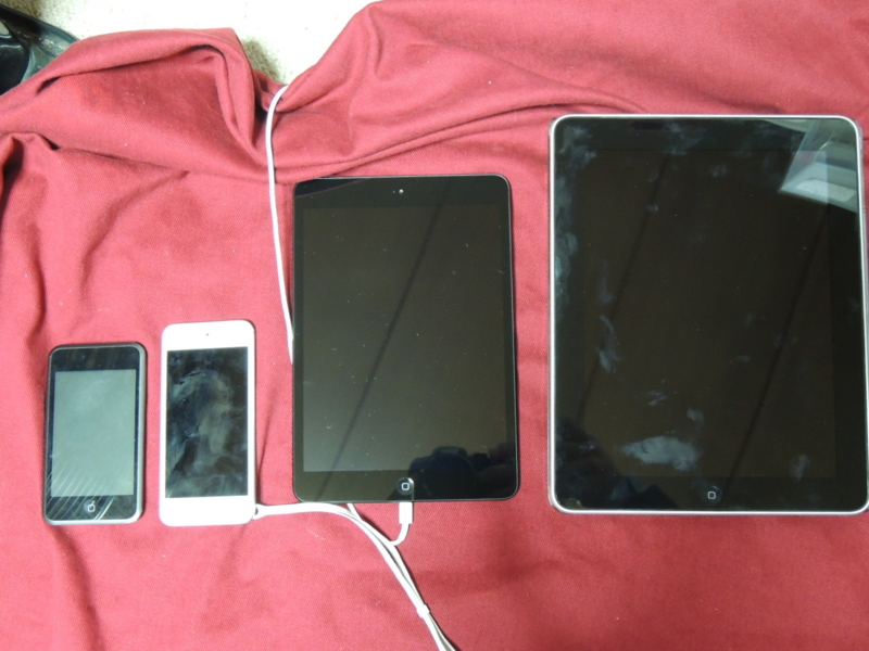 iPad iPad mini iPod touch