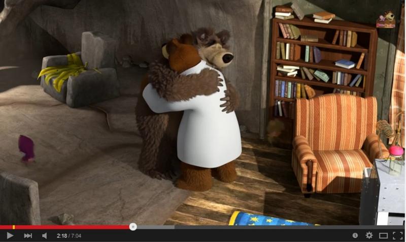マーシャと熊 第48話 Маша и Медведь 48
