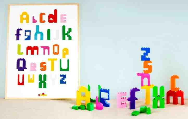 LEGO DUPLO レゴ デュプロ アルファベット