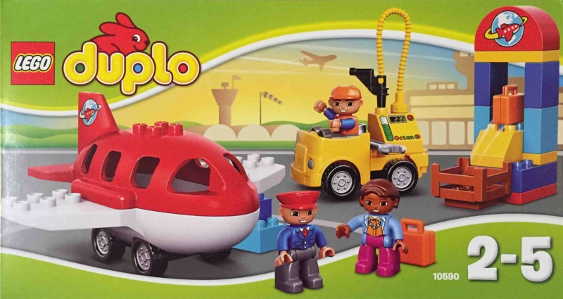 LEGO duplo 10590 レゴ デュプロ のまち くうこう 箱