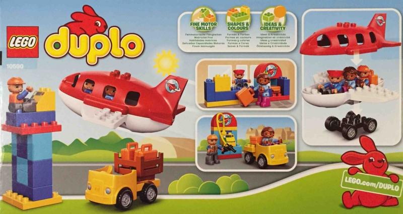 LEGO duplo 10590 レゴ デュプロ のまち くうこう