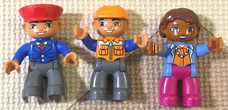 LEGO duplo 10590 レゴ デュプロ のまち くうこう 人形3体