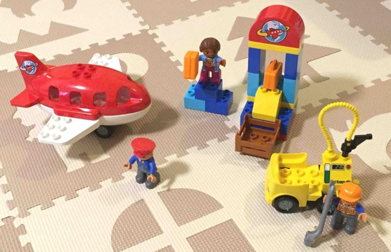 LEGO duplo 10590 レゴ デュプロ のまち くうこう 組み立て