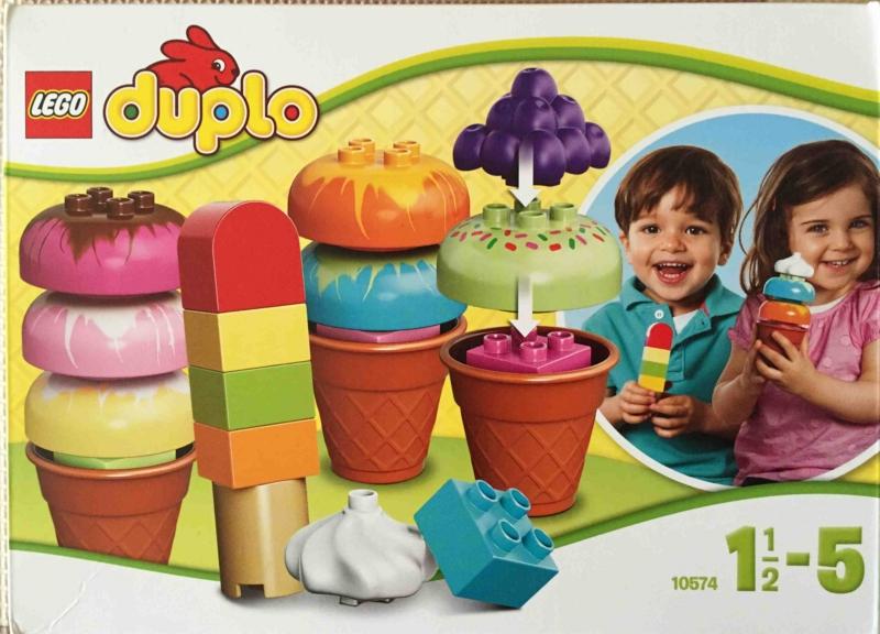 LEGO duplo 10574 レゴ デュプロ アイスクリーム パッケージ