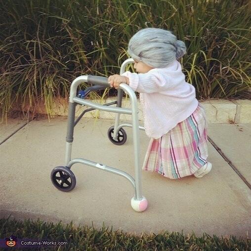Baby grandma for halloween