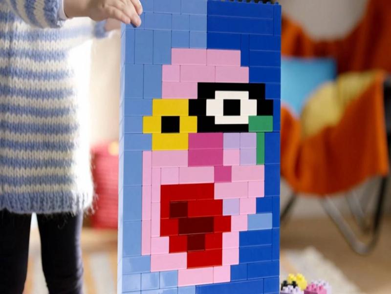 LEGO DUPLO レゴ デュプロ 顔の絵