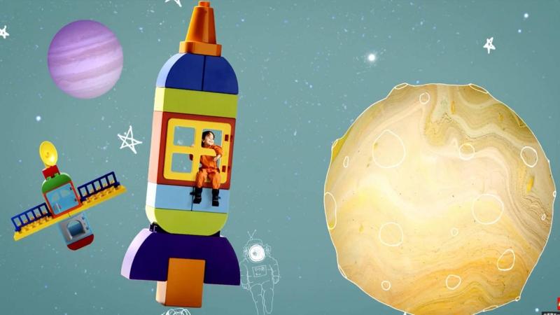 LEGO DUPLO レゴ デュプロ 宇宙ロケット