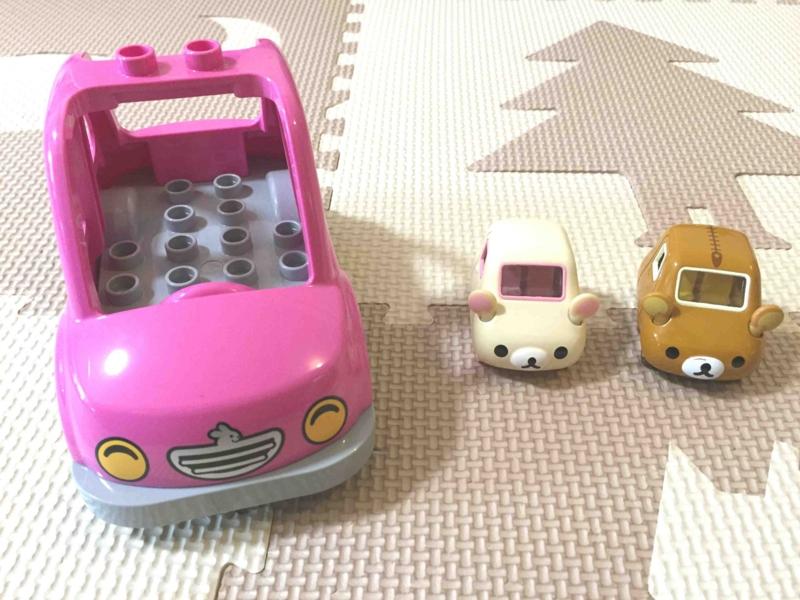 LEGO レゴのクルマとトミカ コリラックマ