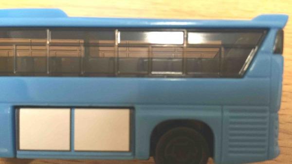 ハッピーセット トミカ バスの窓