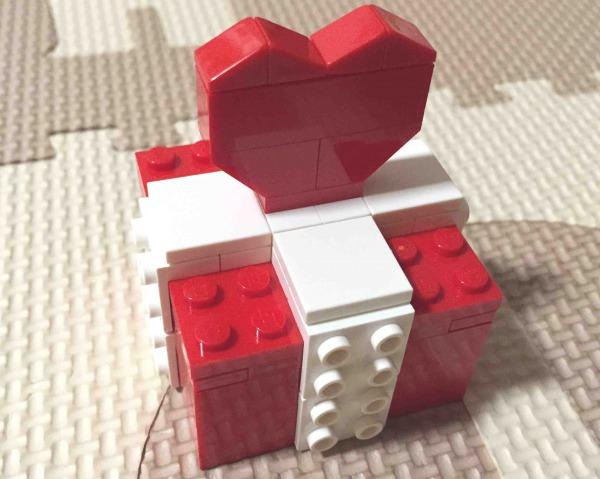 レゴ 40029 バレンタインデー・ボックス 完成
