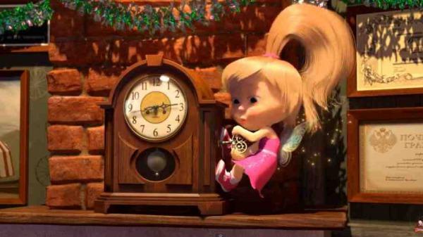 マーシャと熊 Маша и Медведь Masha and the bear 50 マーシャ 時計の針