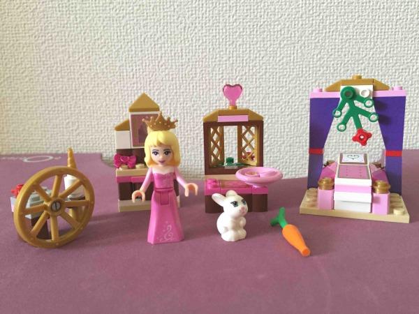 レゴ LEGO ディズニープリンセス オーロラ姫のベッドルーム