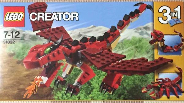 レゴ ファイヤードラゴン 31032 LEGO Red Creatures パッケージ
