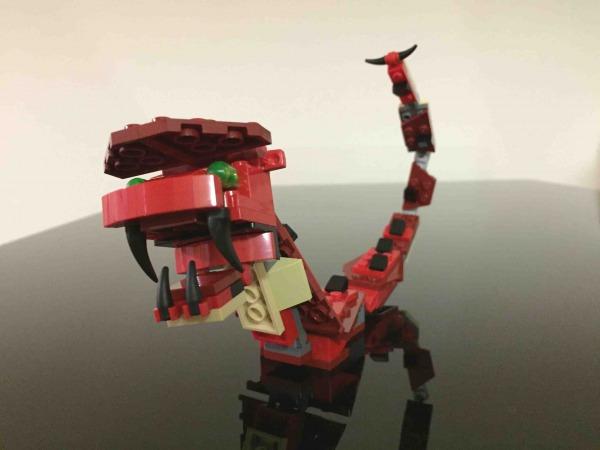 レゴ ファイヤードラゴン 31032 LEGO Red Creatures ヘビ