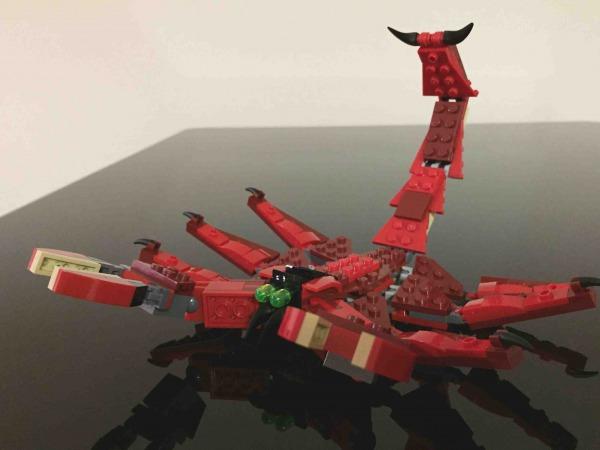 レゴ ファイヤードラゴン 31032 LEGO Red Creatures サソリ