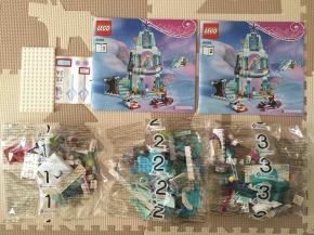 エルサのアイスキャッスル LEGO 41062 中身