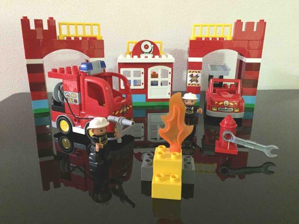 レゴ デュプロのまち 消防署 10593