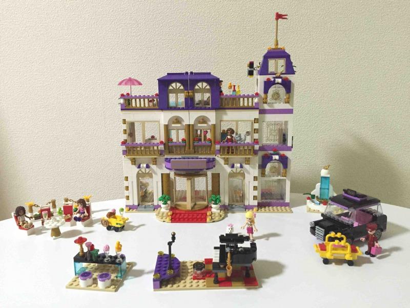 レゴ フレンズ ハートレイクホテル 41101 全体