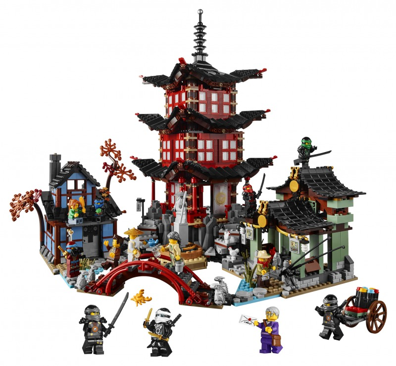 レゴ ニンジャゴー Ninjago Temple of Airjitzu 70751 01