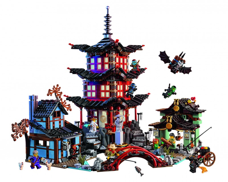 レゴ ニンジャゴー Ninjago Temple of Airjitzu 70751 02