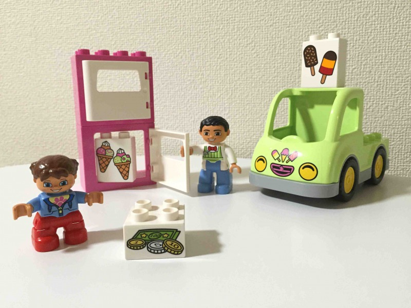 duplo ice cream truck instructions