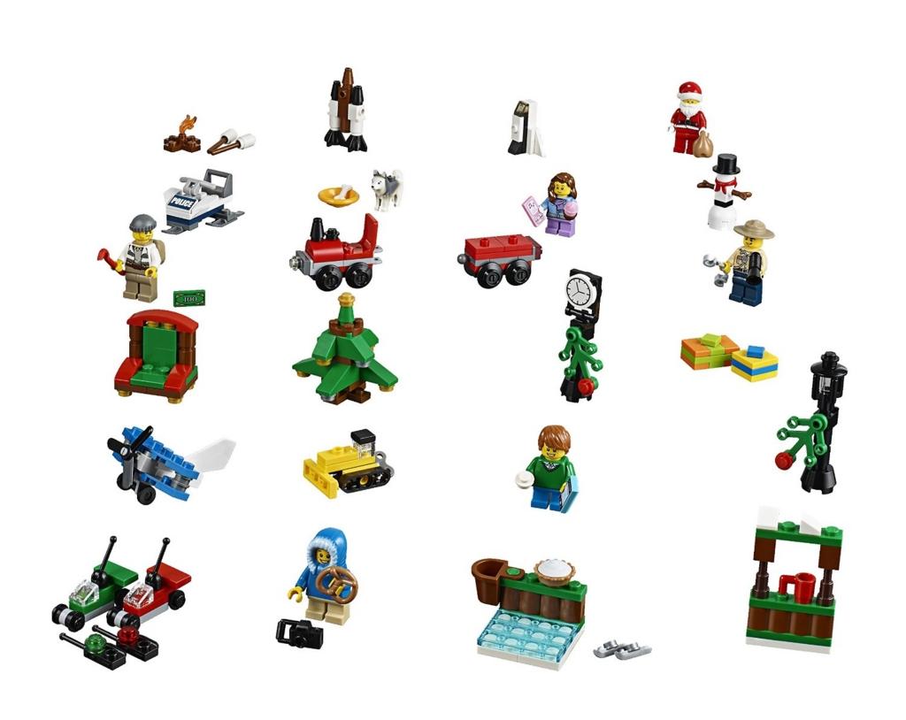 レゴ シティ アドベントカレンダー 60099