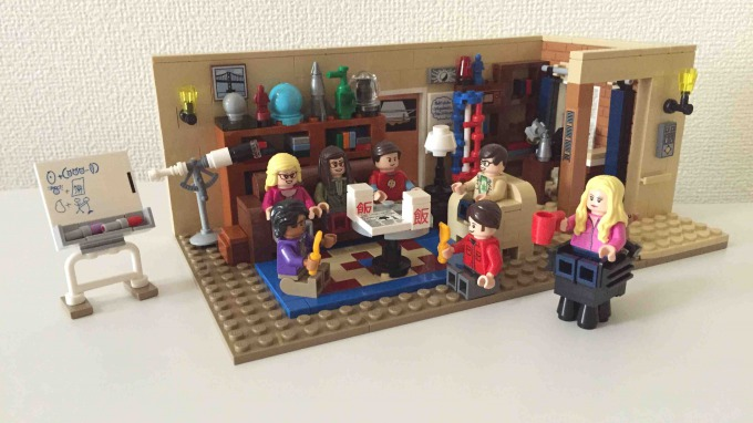 Lego Ideas The Big Bang Theory 21302 review