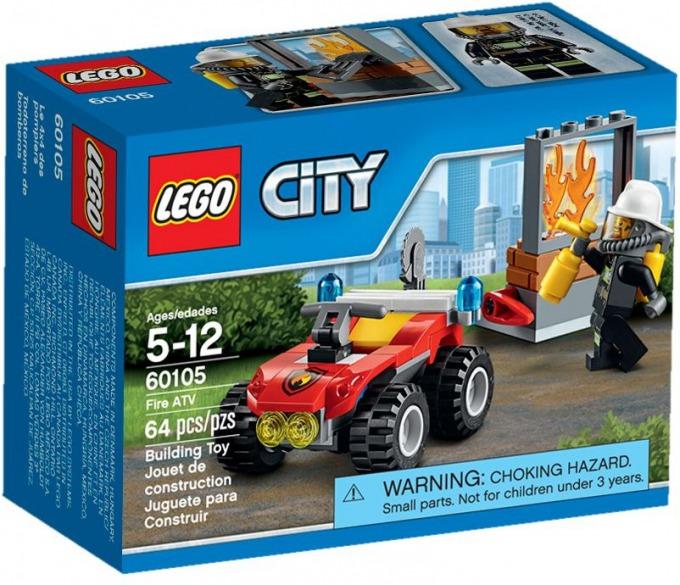 レゴ シティ オフロード消防車 60105