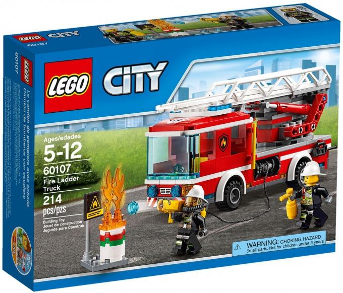 レゴ シティ はしご車 60107