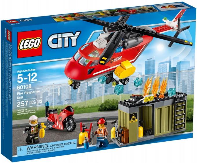 レゴ シティ 消防ヘリコプター 60108