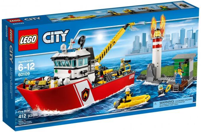 レゴ シティ 消防ボート 60109