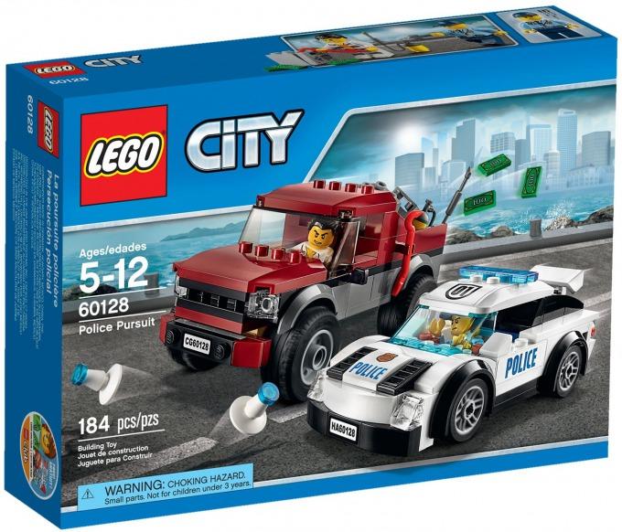 レゴ シティ ポリスカーのドロボウ追跡 60128