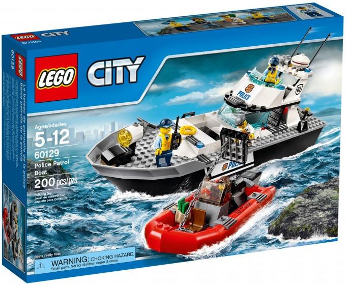 レゴ シティ ポリスパトロールボート 60129