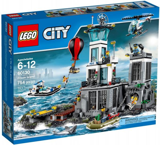 レゴ シティ 島の脱走劇 60130