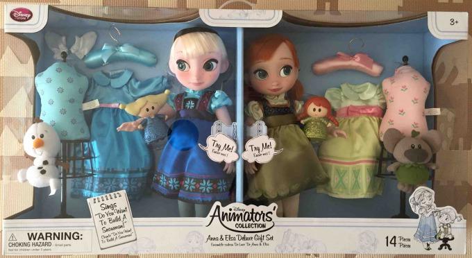 ディズニー アニメーター コレクションドールギフトセット アナ&エルサ