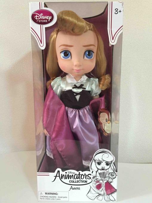 ディズニー アニメーター コレクションドールのオーロラ姫
