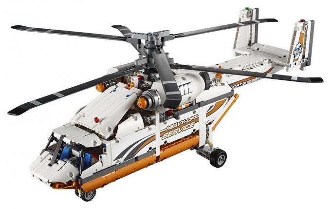 レゴ テクニック ヘビーリフト ヘリコプター 42052Heavy Lift Helicopter