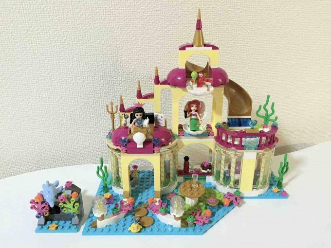 レゴ ディズニー・プリンセス アリエルの海の宮殿 41063