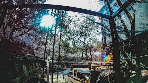 鎌倉のカフェの内装