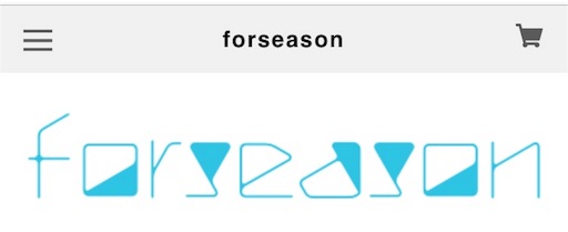 BASEで作成したネットショップ「Forseason」のロゴ画像