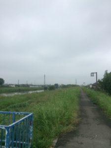 元荒川遊歩道ジョギング