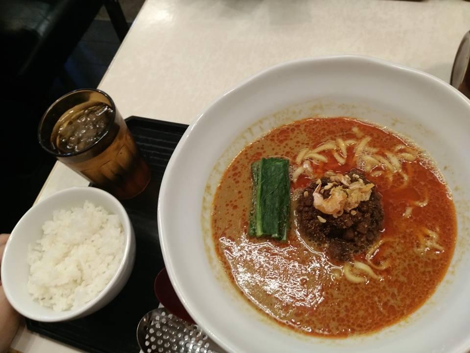 登竜門の担々麺