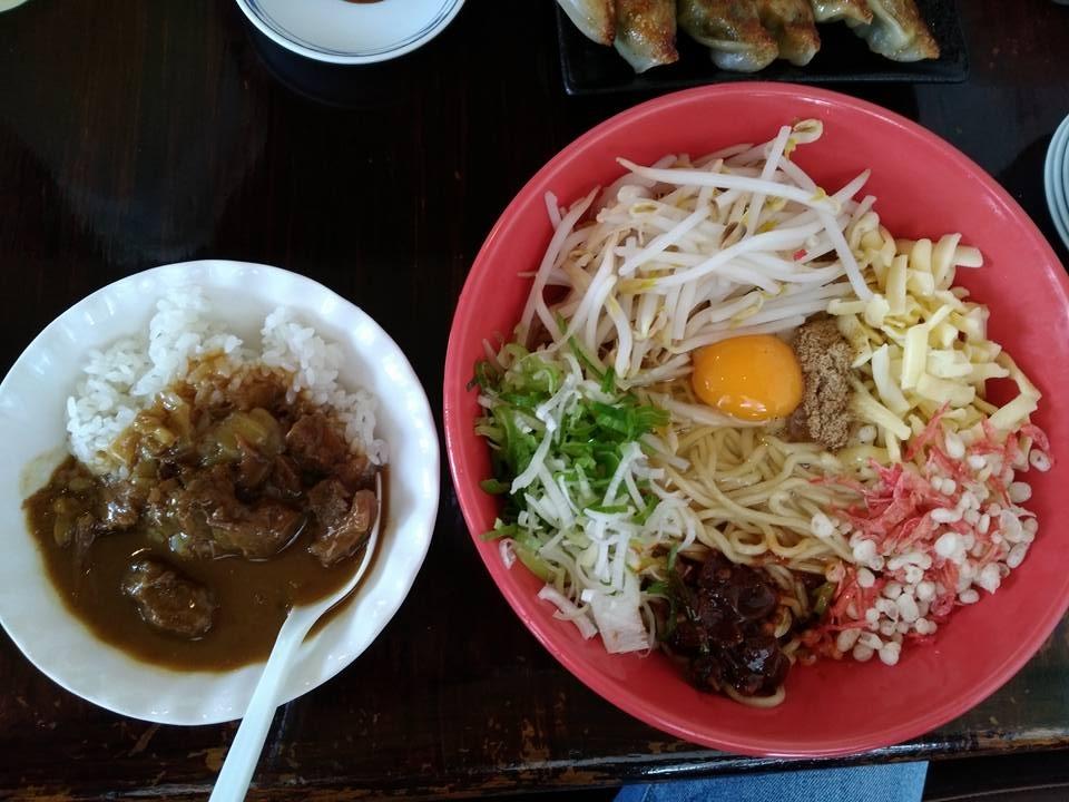 琉家のまぜ麺