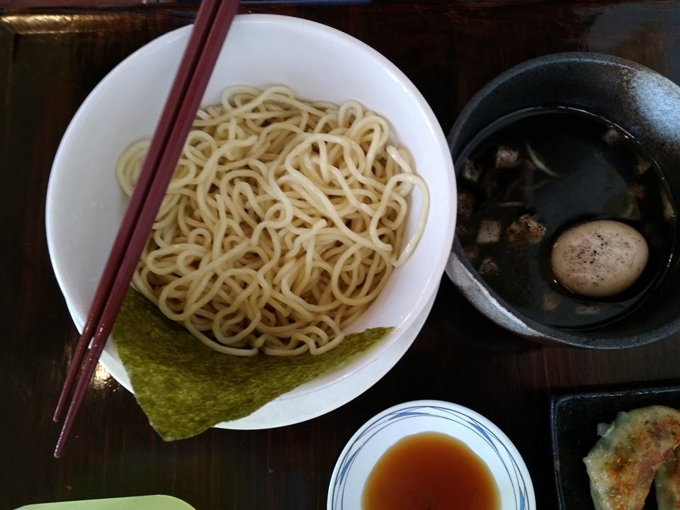 琉家の琉こがしつけ麺