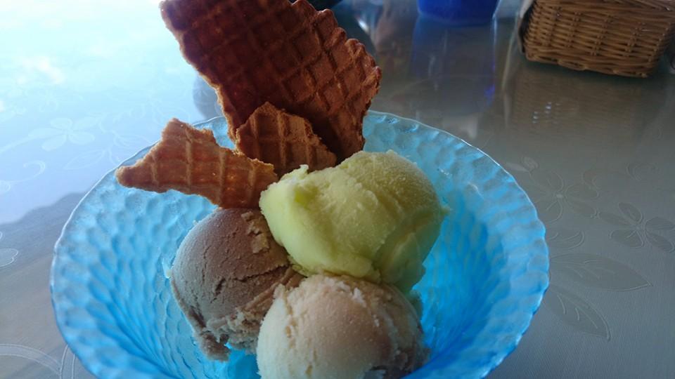 アイスクリンcafeアークのアイスクリン